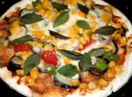 طرز تهیه پیتزا سبزیجات در سبک ناتورالیسم