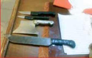 حمله وحشیانه به افسر پلیس با ساطور در آبادان! +عکس