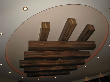 نمونه هایی زیبا از کناف کاری سقف منزل +عکس