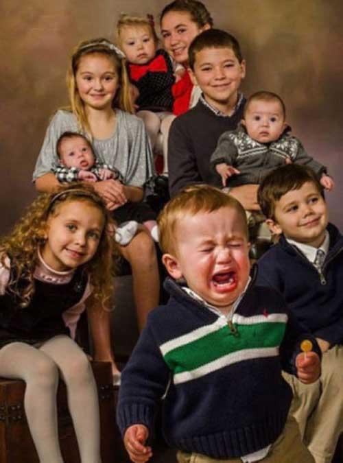 ژست های خنده دار و بامزه کودکان +عکس