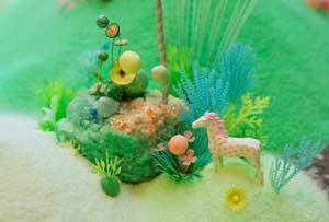 دنیای آبنباتی رنگارنگ +عکس