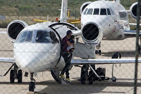 هواپیمای شخصی کریس رونالدو +عکس