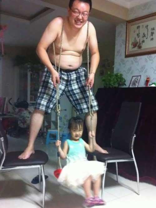 عکس های دیدنی خنده دار از بچه های بازیگوش
