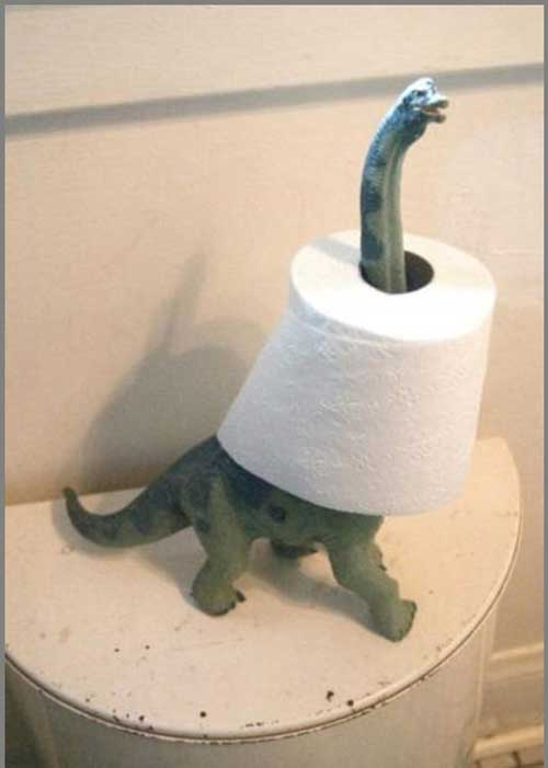 عکس های جالب دستمال توالت های خنده دار و خلاقانه