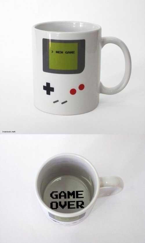 فنجان های جالب خلاقانه و بامزه