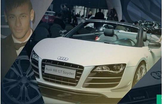 اتومبیلهای لوکس ستار فوتبال +عکس
