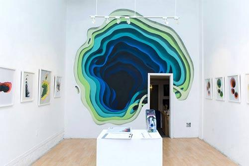نقاشی های دیواری خیره کننده سه بعدی هنرمند آلمانی 1010 +عکس