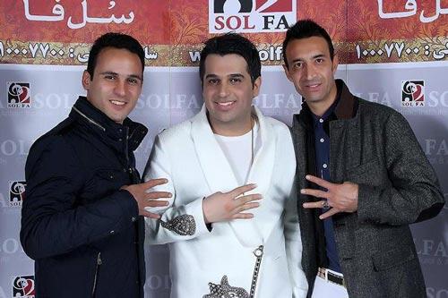 بازیکنان استقلال در کنسرت حمید عسکری +عکس