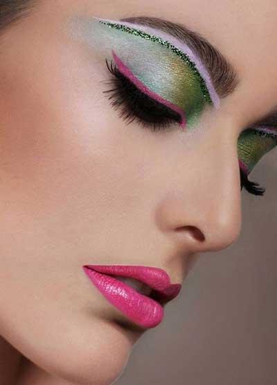 جدیدترین مدل های خاص آرایش صورت 2015