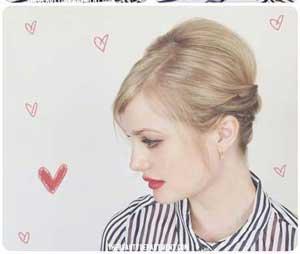 آموزش تصویری مدلهای موی ساده و زیبا