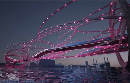 عکس های جالب طرح پل بعدی لندن