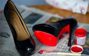 ایده هایی جالب برای تزئین کفش های ساده +عکس