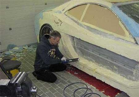 خودروی قدیمی که به خودروی اسپرت تبدیل شد! +عکس
