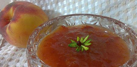 طرز تهیه 2 نوع مارمالاد هلو فصلی