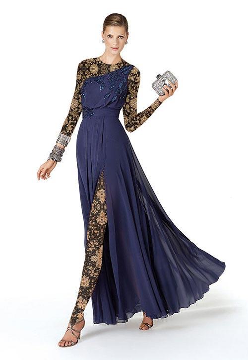 انواع مدل های جدید لباس شب دخترانه و زنانه 94