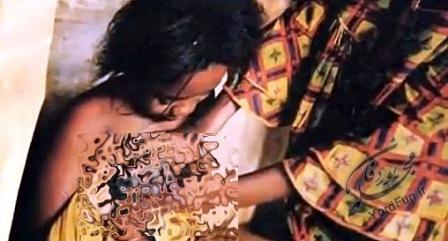 تصویر اتو کردن سینه دختران در این قبیله وحشی