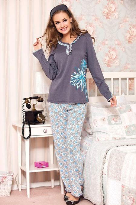 مدل لباس خواب های گیاهی دخترانه