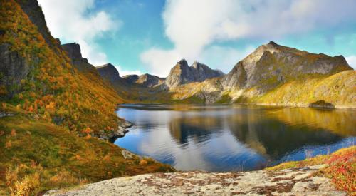 عکس های خارق العاده دریاچه