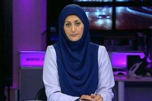 مجری خانم تلویزیون و تاریخچه بابا کرم!! + عکس