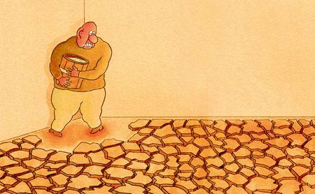 سری جدید کاریکاتور صرفه جویی در مصرف آب