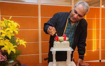 کیک تولد جالب مهران مدیری +عکس
