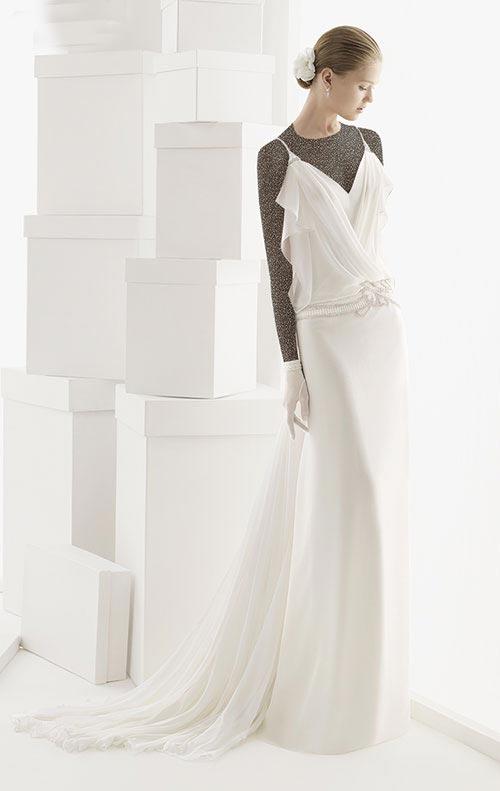 مدل های جدید لباس عروس اروپایی 94