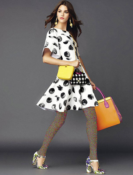 مدل لباس بهار و تابستان برندهای Dolce & Gabbana