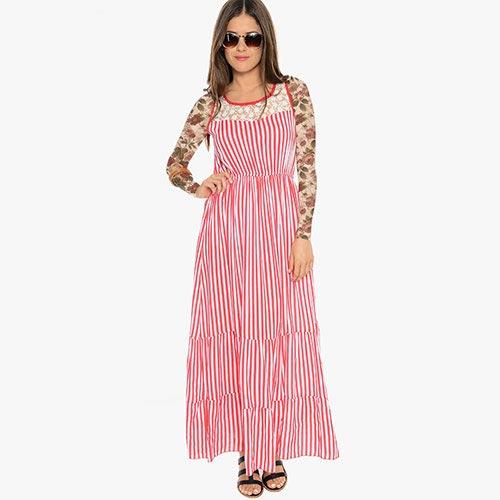 انواع مدل های جدید لباس مجلسی تابستانی زنانه و دخترانه 94