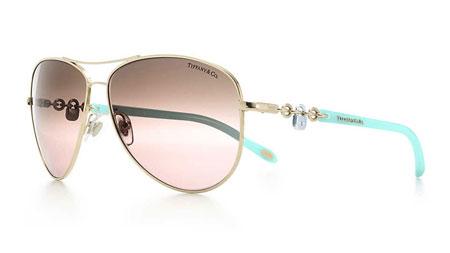 جدیدترین مدل های عینک آفتابی زنانه برند Tiffany & Co