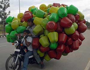 تصاویر طنز از حمل و نقل های سنگین