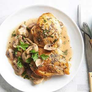 نحوه تهیه مرغ با سبزیجات و سس قارچ