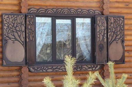 حفاظهای منبت کاری شده پنجره بسیار زیبا