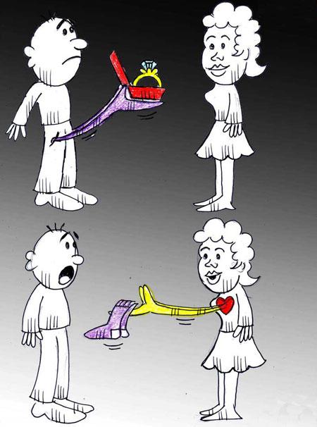 کاریکاتورهای روز پدر و روز مرد