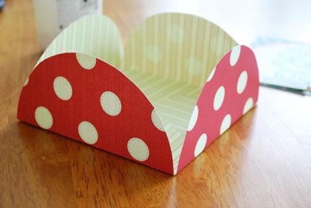 آموزش ساخت پاکت کادویی مربع با دایره (تصویری)