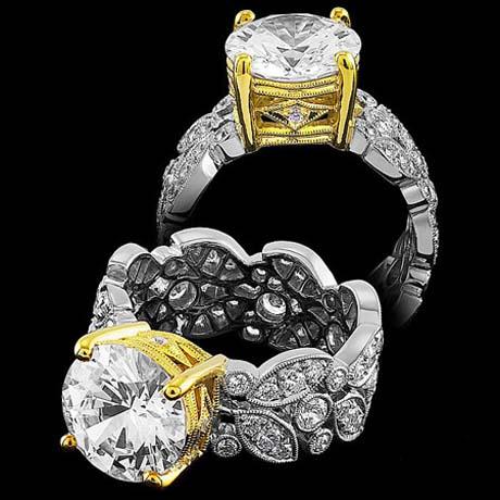 جدیدترین مدل های حلقه نامزدی و انگشترهای جواهر 2015