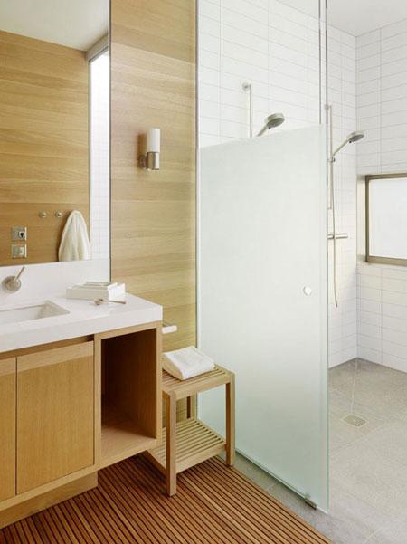 مدل های كف پوش طبیعت دوست در حمام +عکس
