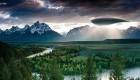 بالن فضایی فوق مدرن با قدرت استتار در آسمان