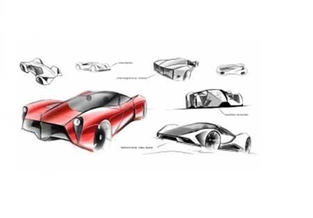 معرفی و تصاویر خودرو فراری F80