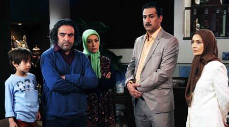 تصاویر بازیگران طنز سریال شمعدونی