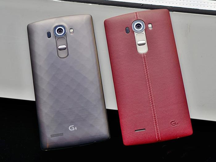 معرفی رسمی LG G4 ال جی جی فور با بدنه چرم