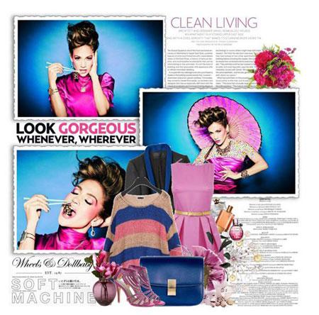 مدل های شیک لباس بهاری به سبک جنیفر لوپز Jennifer Lopez