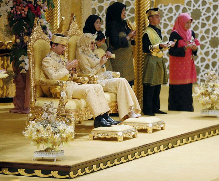 عروس زیبا و عروسی مجلل شاهزاده برونئی