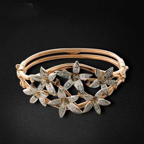 مدل های جدید دستبند زنانه و دخترانه طلا 98