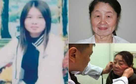 تصاویر پیر شدن زن جوان در عرض 6 ماه