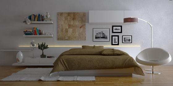مدل دکوراسین های آرام بخش برای اتاق خواب