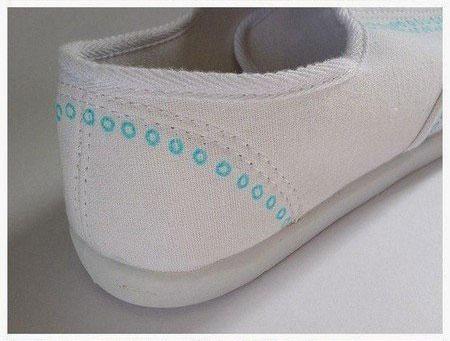 تبدیل کفش کهنه به کفش نو مرحله به مرحله
