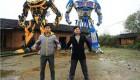عکس های جالب رباتهای غولپیکر چینی