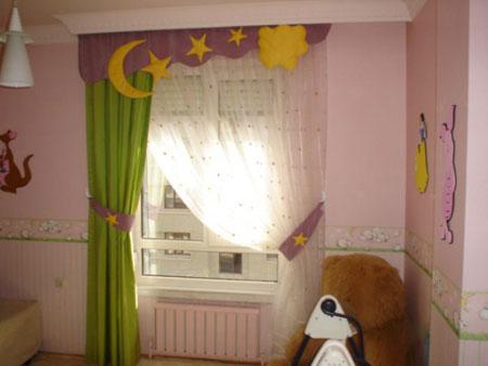 جدیدترین مدل های پرده اتاق کودک