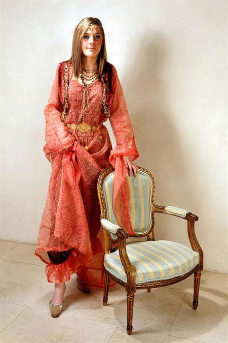 لباس های خیره کننده سنتی زنانه کرد