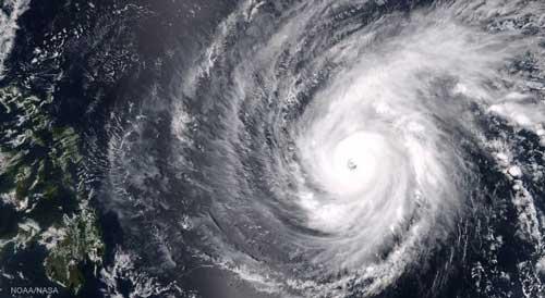 تصاویر خارق العاده یک ابرطوفان از ایستگاه فضایی بین المللی